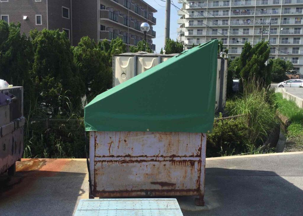 コンテナ 屋根テント シート