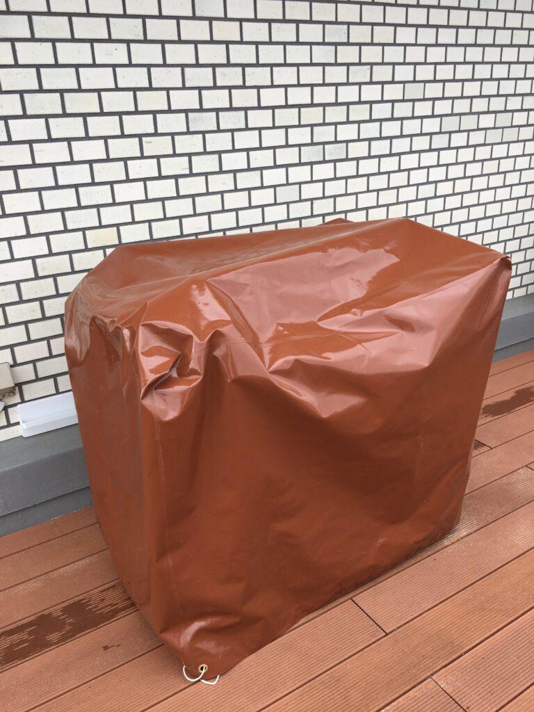 屋外で物の保存用の完全防水カバー<br>様々な生地、サイズで、一品からオーダーで製作いたします。