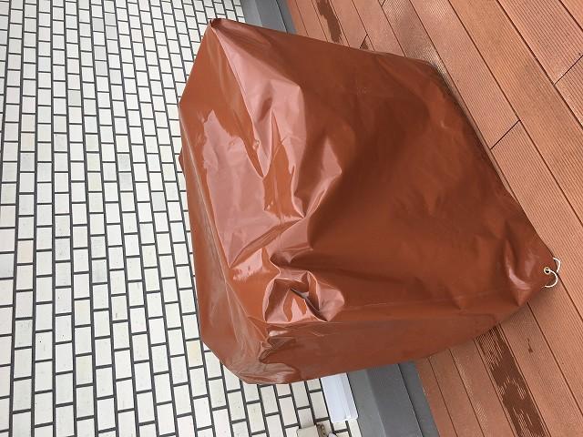 屋外保管用 防水家具カバーを注文いただきました。